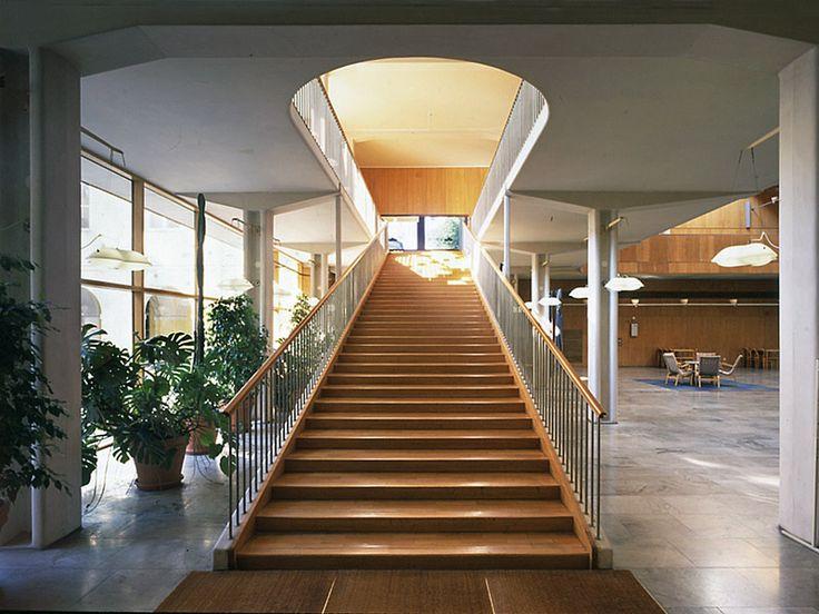 Extension to Göteborg town hall. Asplund