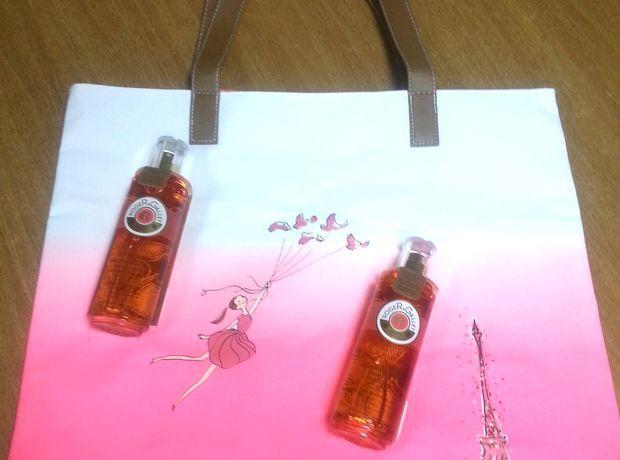 5 λάδια Fleur de Figuier και 5 τσάντες θαλάσσης της Roger & Gallet