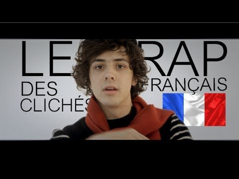 Le rap des clichés français - YouTube - with subtitles