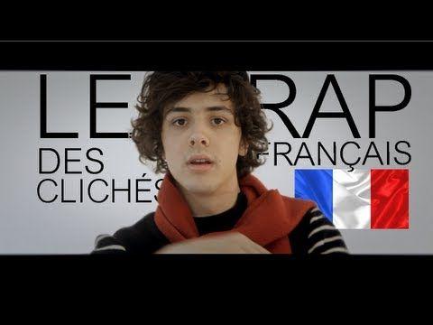 Le rap des clichés français - YouTube - with subtitles