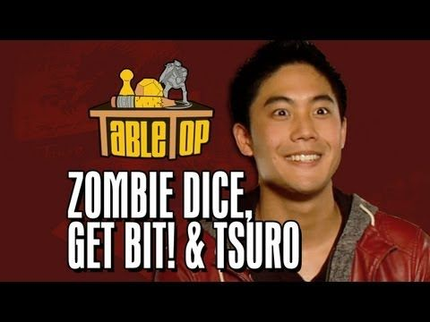 Zombie Dice, Get Bit! & Tsuro: Ryan Higa, Freddie Wong, Rod Roddenberry. TableTop Ep 3 - YouTube