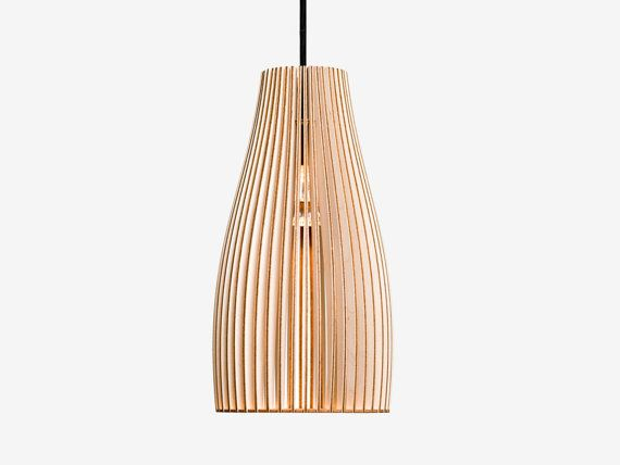 ENA wooden light, wood lamp, spot light, wooden lampshade