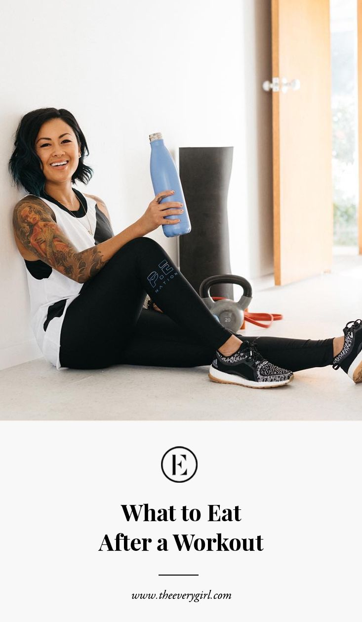 what to #eat after a #workout #theeverygirl