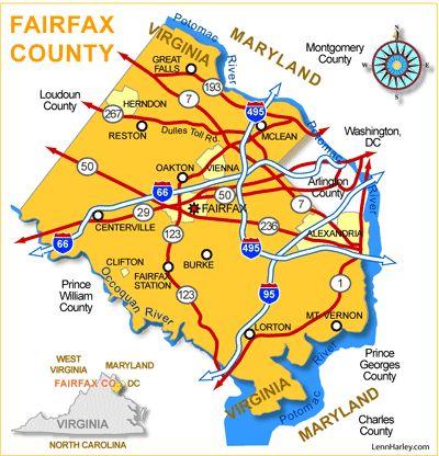 Fairfax County Erwachsenenstrafanstalt virginia