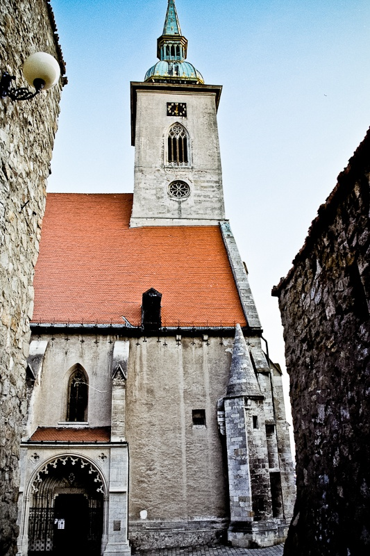 #Martinsdom (#St. #Martin's #cathedral), #Bratislava, #Slovakia