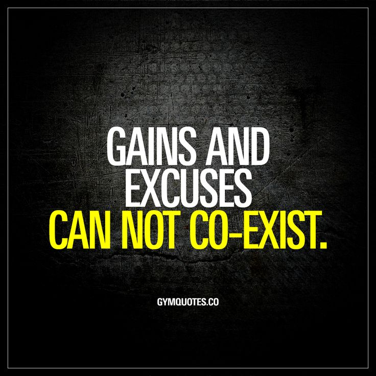 Gains and excuses can not co-exist. - They simply can not. It's either to train hard towards those beautiful gains or go with those lame excuses. #trainhard #noexcuses www.gymquotes.co for all our gym quotes and workout motivation!