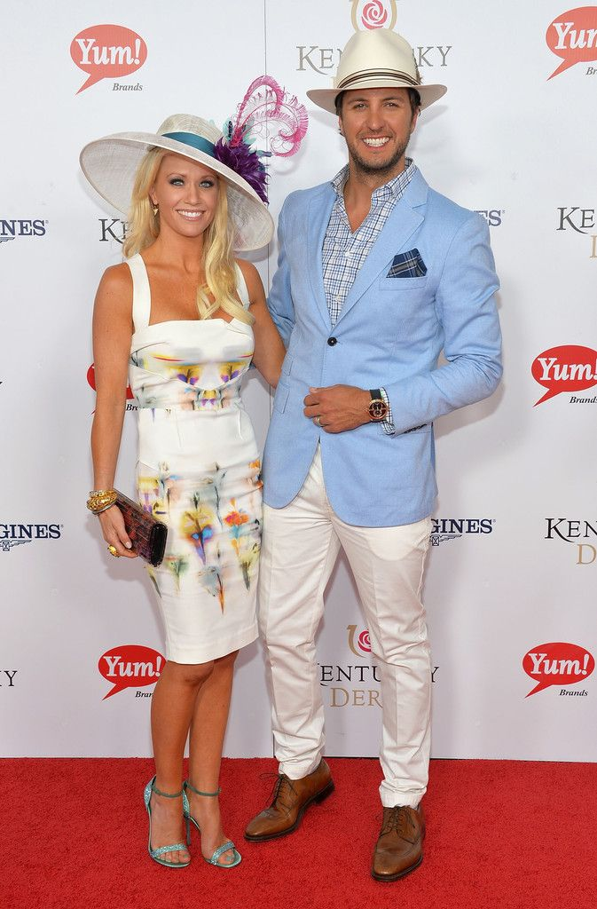 Luke and Caroline Bryan - Moet & Chandon Toasts The 139th Kentucky Derby - Day 2
