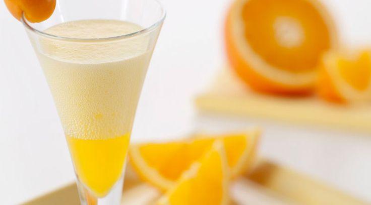 Fizzy Orange Cocktail