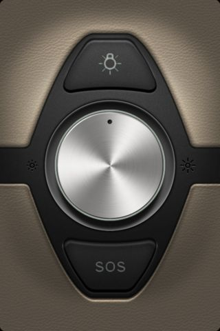 *APP* | iOS Flashlight. Also looks like a knob in a very expensive car!