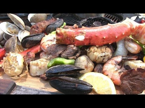 Steak and Seafood Surf & Turf by the BBQ Pit Boys - YouTube