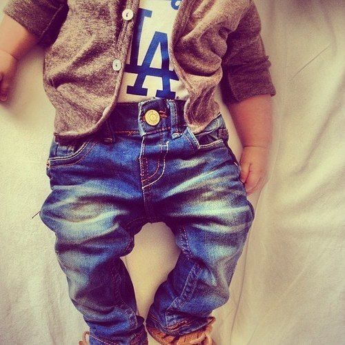 If i had a little boy he would be wearing Dodgers gear tastefully lol
