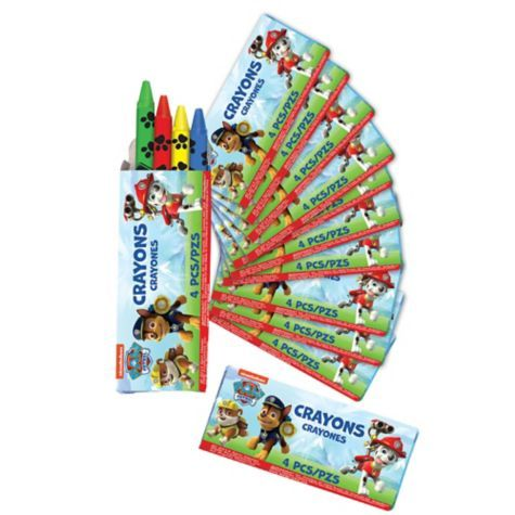 PAW Patrol Crayons 12ct - Party City