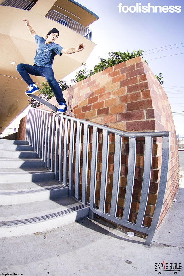 A righteous life is the greatest rebellion. Empower your teen with #Foolishness, a daily devotional DVD by pro skaters Christian Hosoi and Brian Sumner.