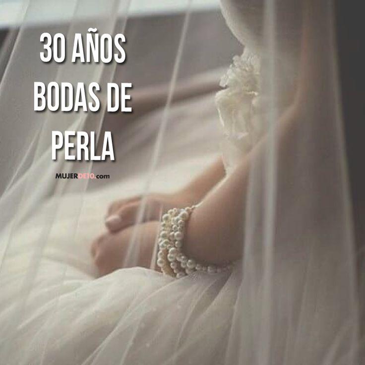 30 aniversario de bodas - Bodas de Perla