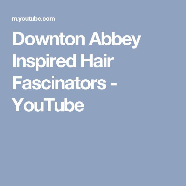 Downton Abbey Inspired Hair Fascinators - YouTube