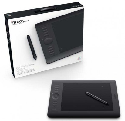 all-new Wacom intuos 5  with added touch ability
