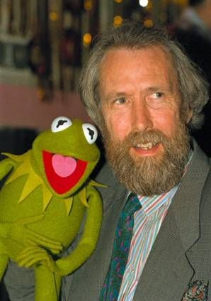 Jim Henson. It's not easy being green.