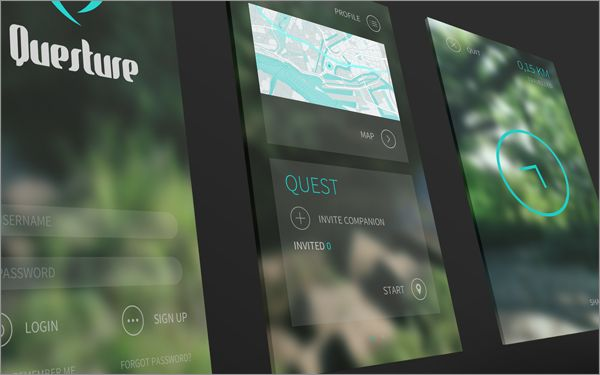 Questure on Behance