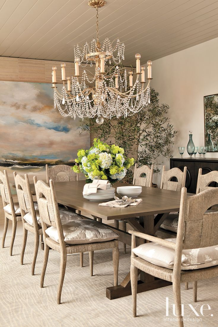 Sand Colored Dining Room Neutral