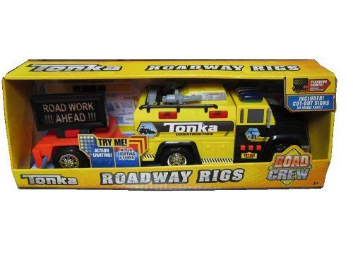 Tonka Roadway Rigs Road Crew by Funrise. $69.99. action lighting. tonka construction truck  sc 1 st  Pinterest & 100 best Toys u0026 Games - Play Vehicles images on Pinterest | Play ... azcodes.com