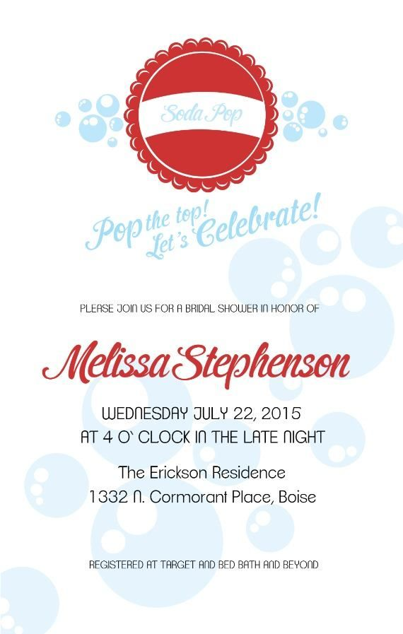 This printout includes invitation monogram recipe card