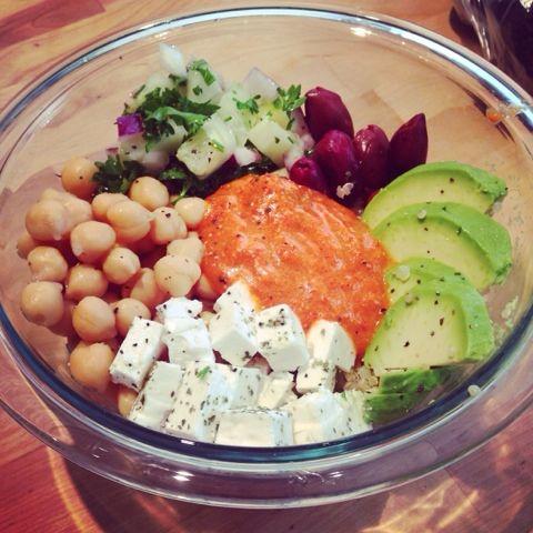Foodie vs. Cancer: Mediterranean quinoa bowl