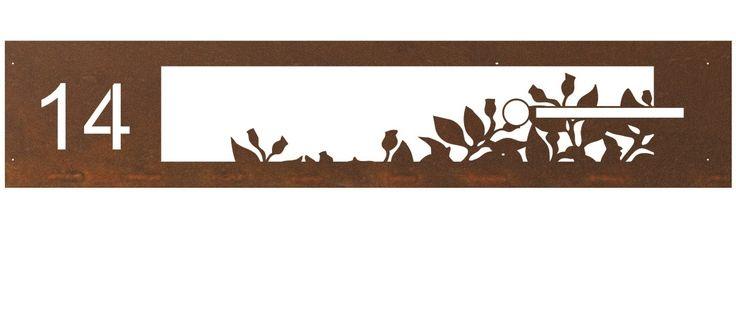 custom Banksia Nut rust letterbox by www.entanglements.com.au