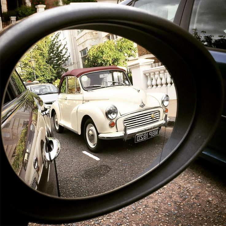 Classic in the Rearview DX #Morris #Minor #Minor1000 #MorrisMinor #ClassicBritishCar #MorrisMinorConvertible #ClassicInTheRearview