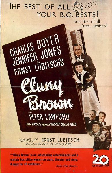 Cluny Brown Ad