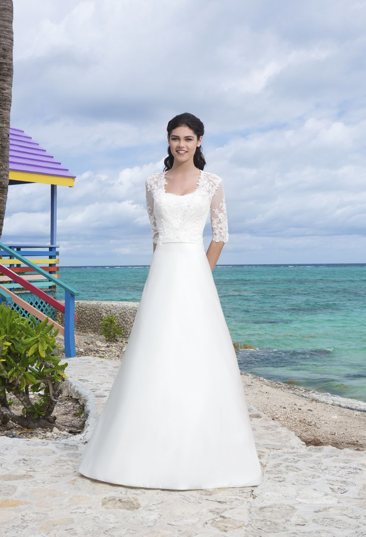 22 best wedding dress images on Pinterest | Short wedding gowns ...