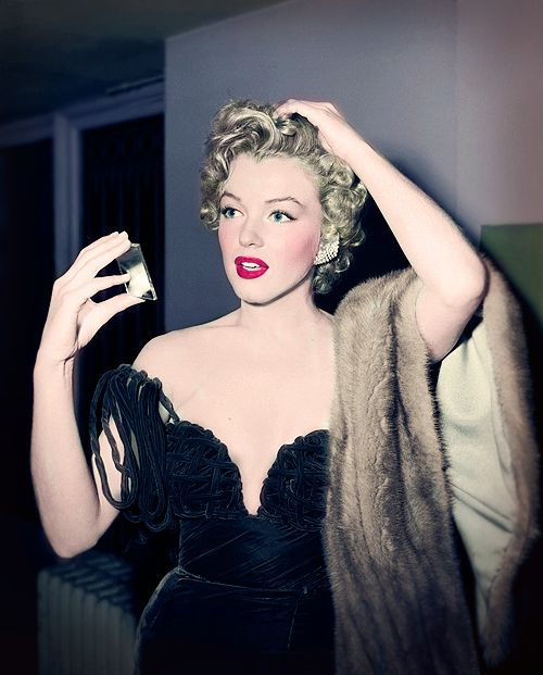Marilyn Monroe At The Henrietta Awards In 1952. These Awards were Held At The Club Del Mar In Santa Monica. Marilyn Won For Best Young Box Office Personality.