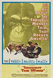 """Inherit the Wind (MOVIE). This is a dramatization of the famed Scopes Monkey Trial from 1925, in which """"two great lawyers argue the case for and against a science teacher accused of the crime of teaching evolution."""" (IMDB) This visual production may be more accessible to some students than text versions of the Scopes story."""