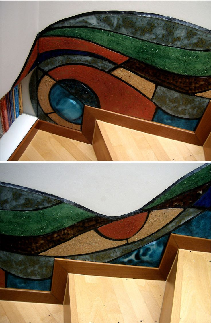 Las 25 mejores ideas sobre vidrio reciclado en pinterest for Materiales para pintar un mural