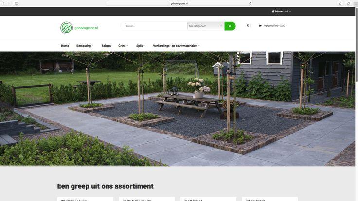 Weer een project van Logisch! online: de webshop van Grindengrond.nl