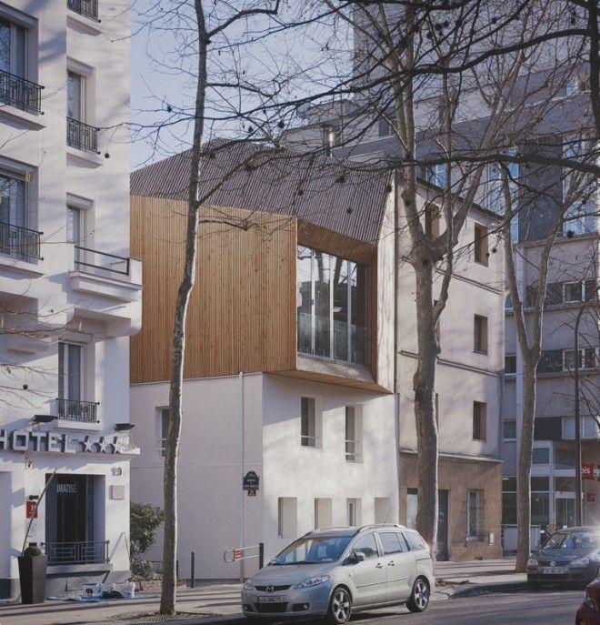 """Superbe projet de surélévation parisienne. ----> Pour vos projets de #surélévation de maison en bois sur le Rhône et l'Isère, demandez une étude gratuite à nos Pros certifiés RGE sur le site http://www.avantages-habitat.com/travaux-surelevation-de-toiture-79.html Vous profiterez en plus de leur """"OFFRE sur MESURE"""" adaptée à vos travaux."""