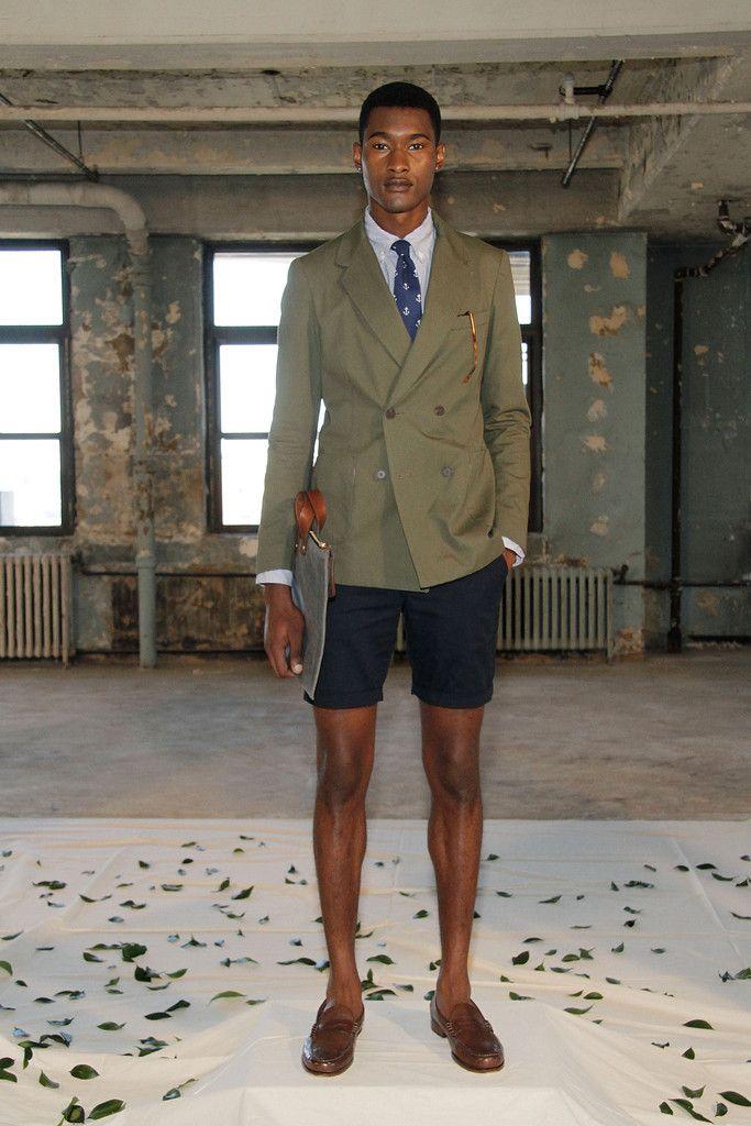 black men in shorts