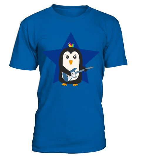 # Rock Guitar Penguin T Shirt .  HOW TO ORDER:1. Select the style and color you want: 2. Click Reserve it now3. Select size and quantity4. Enter shipping and billing information5. Done! Simple as that!TIPS: Buy 2 or more to save shipping cost!This is printable if you purchase only one piece. so dont worry, you will get yours.Guaranteed safe and secure checkout via:Paypal | VISA | MASTERCARD