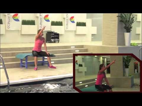 Pilates in the water - Water Pilates - YouTube