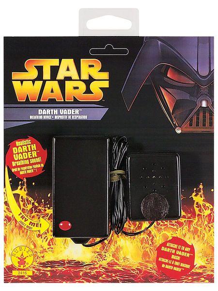 Star Wars; Darth Vader Hengityslaite  Lisensoitu Star Wars Darth Vader Hengityslaite. Darth Vaderia pidetään ulkomuodoltaan yhtenä Tähtien sodan vaikuttavimmista hahmoista.  Olkoon Voima Kanssasi. Äänikoje, joka tekee hengitykseen raskaan Darth Vader tyylisen uniikin soundin. #naamiaismaailma