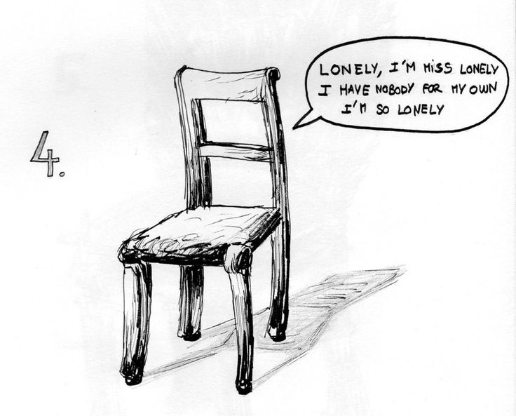 04 - Lonely Chair by Dz-Drawing