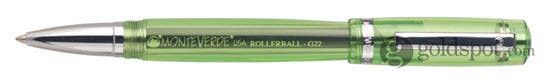 Monteverde Artista Crystal Lime Green Rollerball Pen