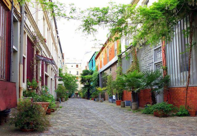 Paris : Cité du Figuier, des ateliers de métallurgie aux ateliers d'artistes - 104-106 rue Oberkampf - XIème | ParisianShoeGals