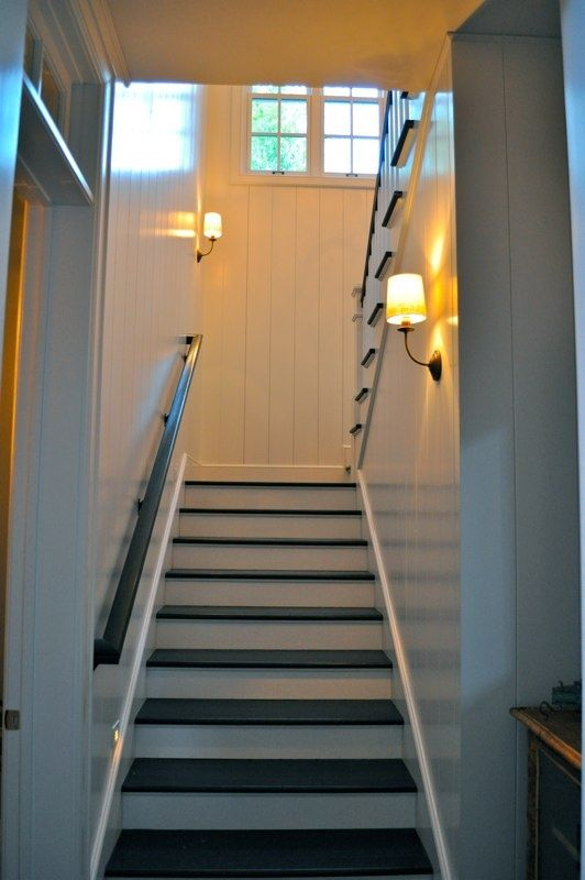 Basement Stair Ceiling Lighting: 17+ Best Images About Staircase Lighting Ideas On