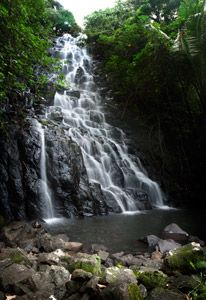 Nahn Pohn Mweli Waterfall, Pohnpei, Federated States of Micronesia (FSM)