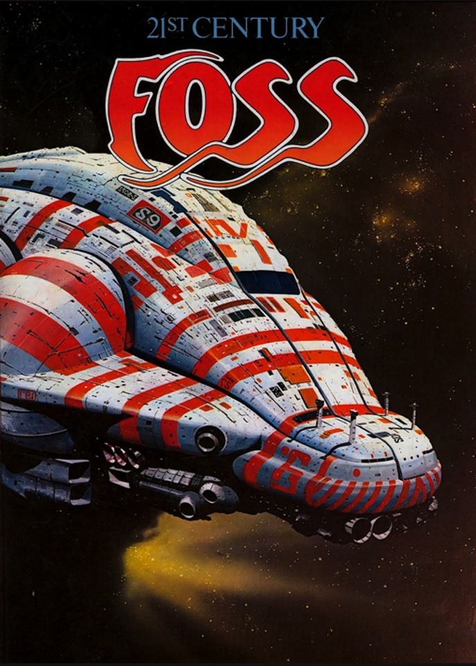 Chris Foss Art School Inspiration Way Back In The Day