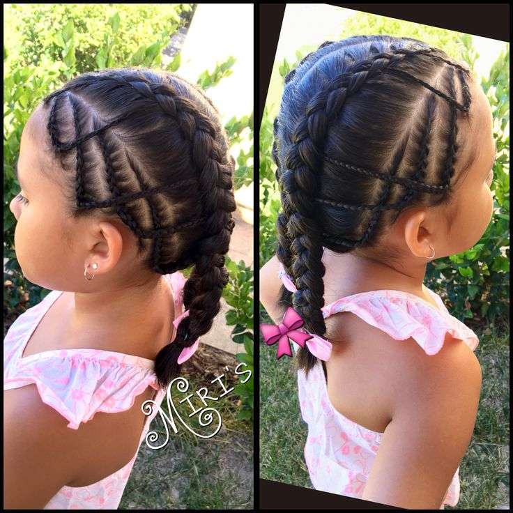 French braids for little girls
