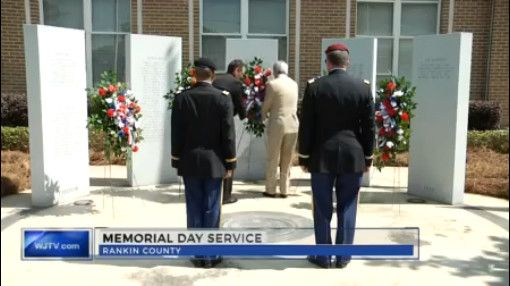 RANKIN COUNTY, Miss. (WJTV) – Rankin County also held a Memorial Day service for those who never made it home to their families after serving their country. One veteran says that Memorial Da…