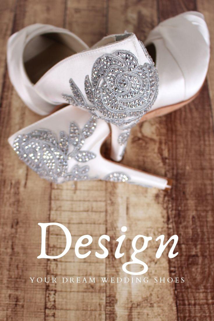 Design Your Own Vintage Wedding Shoes