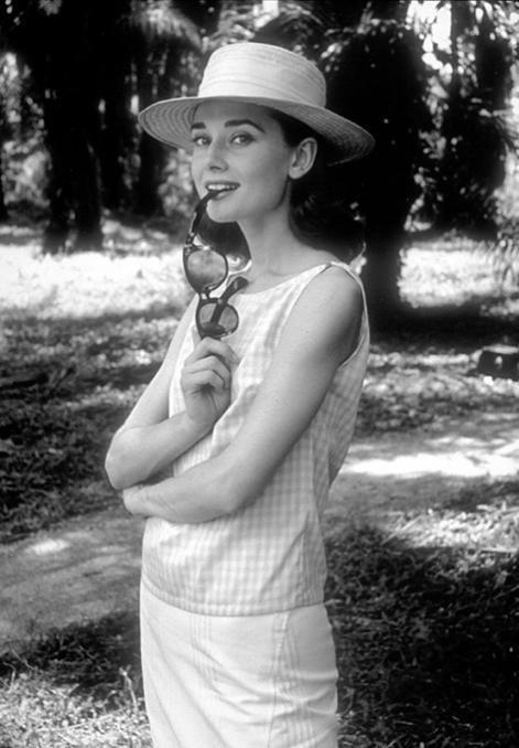 Audrey Hepburn by Sid Avery