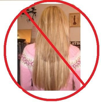 bad hair extensions photo
